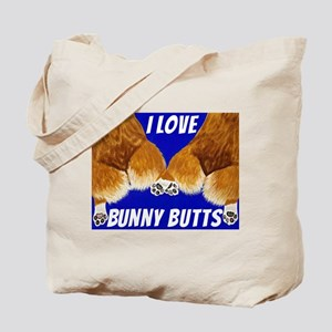 I love bunny butts Tote Bag