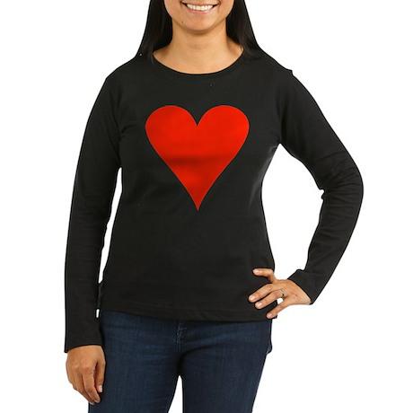 Kasing Kasing Women's Long Sleeve Dark T-Shirt