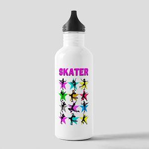 FIERCE ICE SKATER Stainless Water Bottle 1.0L