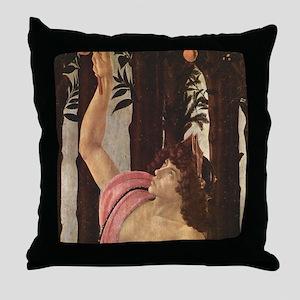 Primavera by Botticelli Throw Pillow
