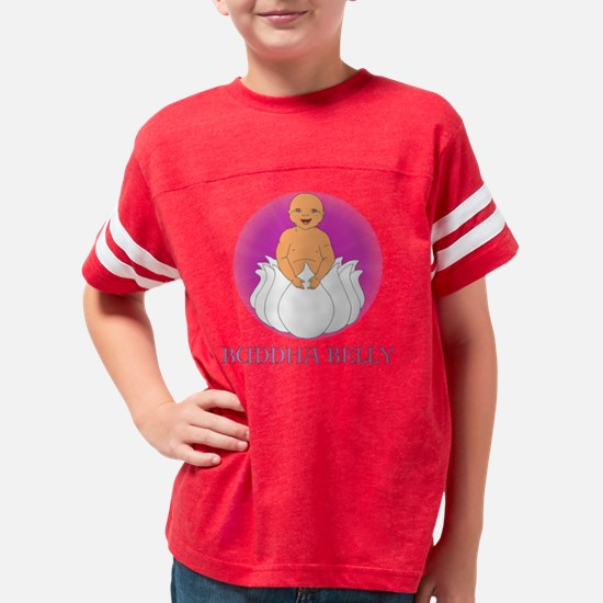 Buddha Belly Med Skin Youth Football Shirt
