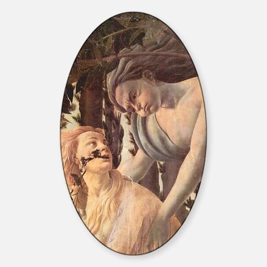 Primavera by Botticelli Sticker (Oval)