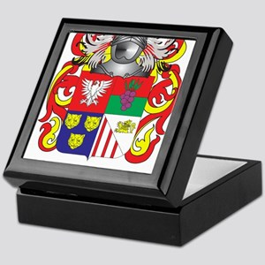Javier Coat of Arms (Family Crest) Keepsake Box
