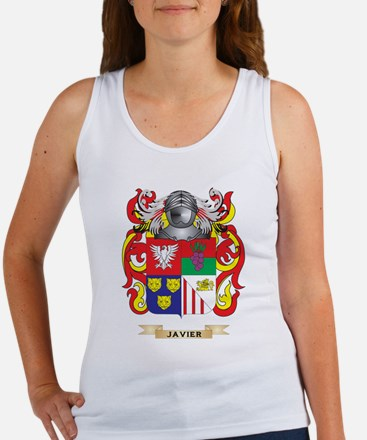 Javier Coat of Arms (Family Crest) Tank Top
