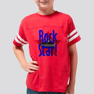 rockstar1 Youth Football Shirt