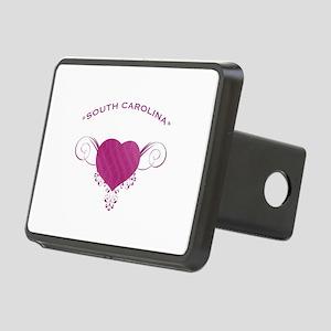 South Carolina State (Heart) Gifts Rectangular Hit