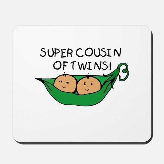 Super Cousin of Twins Mousepad