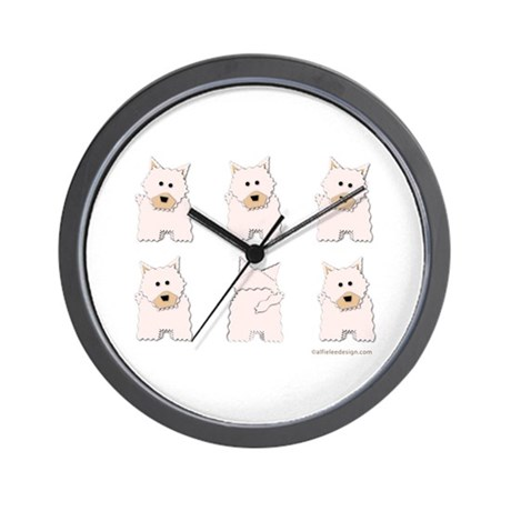 One of These Westies! Wall Clock