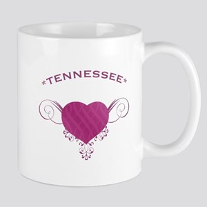Tennessee State (Heart) Gifts Mug