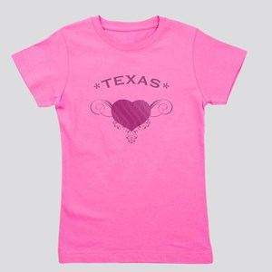 Texas State (Heart) Gifts Girl's Tee