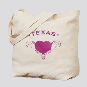 Texas State (Heart) Gifts Tote Bag