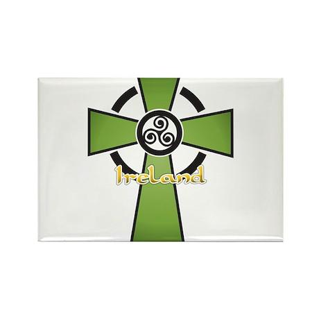 ireland_cross1 Rectangle Magnet