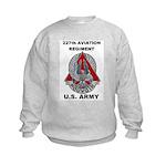 227TH AVIATION REGIMENT Kids Sweatshirt