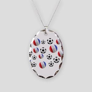 France Soccer Balls Necklace