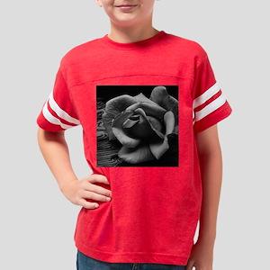 Ansel Adams Rose And Driftwoo Youth Football Shirt