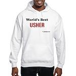 World's Best Usher Hooded Sweatshirt