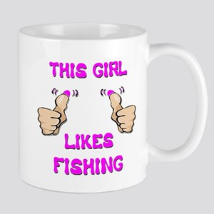 This Girl Likes Fishing Mug