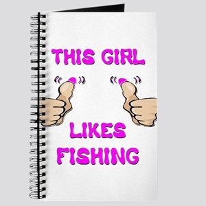 This Girl Likes Fishing Journal