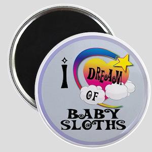 I Dream of Baby Sloths Magnet