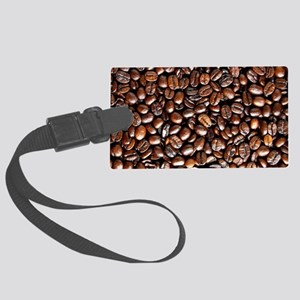 Multiple Coffee Beans  Large Luggage Tag