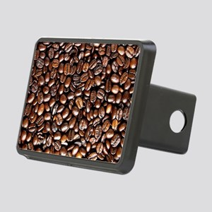 Multiple Coffee Beans  Rectangular Hitch Cover