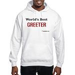 World's Best Greeter Hooded Sweatshirt