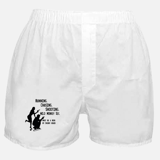 Running, Chasing, Shooting Boxer Shorts