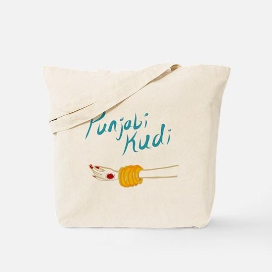 Punjabi Kudi Tote Bag