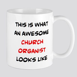 awesome church organist 11 oz Ceramic Mug