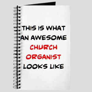 awesome church organist Journal