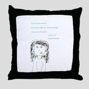 Jeanne Crain Throw Pillow