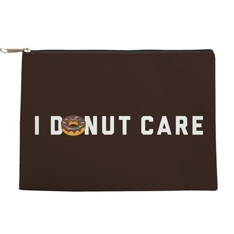 I Donut Care Emoji Makeup Pouch