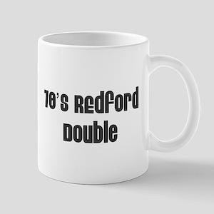 70's Redford Double Mug