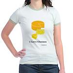 I Love Cheeses Jr. Ringer T-Shirt