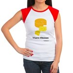 I Love Cheeses Women's Cap Sleeve T-Shirt