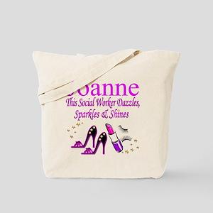 TOP SOCIAL WORKER Tote Bag