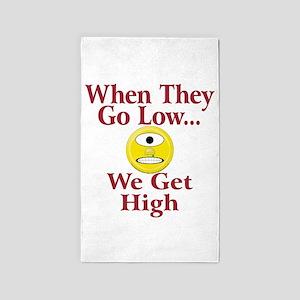 High can be fun. Area Rug