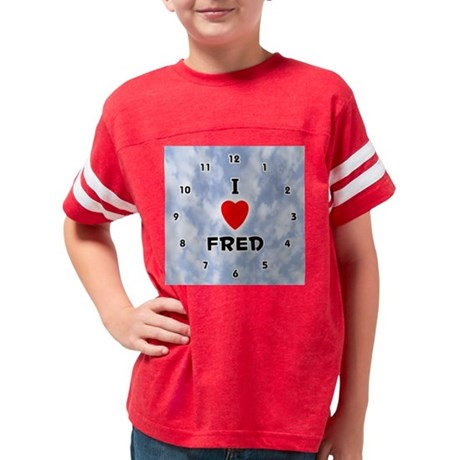 1002AK-Fred Youth Football Shirt