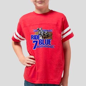2-Rideblue7 Youth Football Shirt