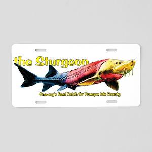 sturgeon1 Aluminum License Plate