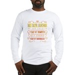 The Fall Feasts of Our Creator Long Sleeve T-Shirt