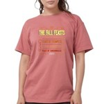 The Fall Feasts of Our Womens Comfort Colors Shirt