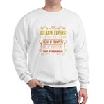 The Fall Feasts of Our Creator Sweatshirt