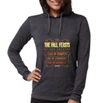 The Fall Feasts of Our Creator Womens Hooded Shirt