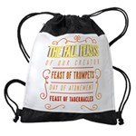 The Fall Feasts of Our Creator Drawstring Bag