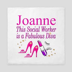 TOP SOCIAL WORKER Queen Duvet