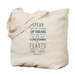 The Feasts of the Lord Tote Bag