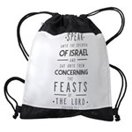The Feasts of the Lord Drawstring Bag