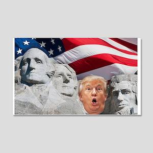 Mount Trumpmore - Trump Wall Decal