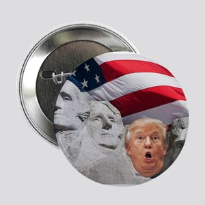"Mount Trumpmore - Trump 2.25"" Button (10 pack)"